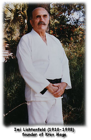 Photo of Imi Lichtenfeld founder of Krav Maga
