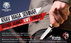 Defense Against Knife Threats – Seminar