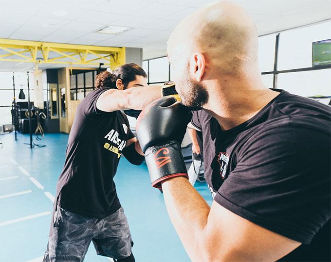 Krav Maga Self-Defense Combat class